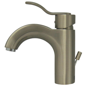 Whitehaus Wavehaus Single Hole/Single Lever Lavatory Faucet with Pop-up Waste