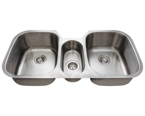 P1254-16 Triple Bowl Stainless Steel by Polaris