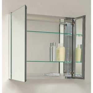 "KubeBath 30"" Wide Mirrored Medicine Cabinet"