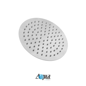 "KubeBath Aqua Rondo 8"" Rain Shower Head"