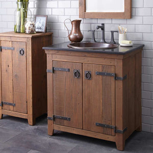 "30"" Americana Vanity Base in Chestnut by Native Trails"