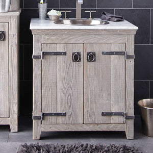 "30"" Americana Vanity Base in Driftwood by Native Trails"