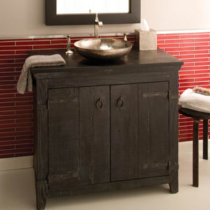 "36"" Americana Vanity Base in Anvil by Native Trails"