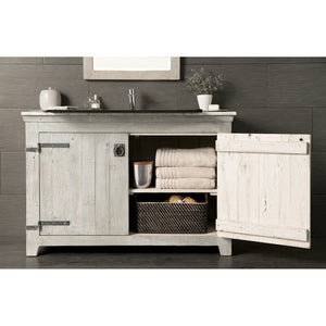 "48"" Americana Vanity Base in Driftwood by Native Trails"