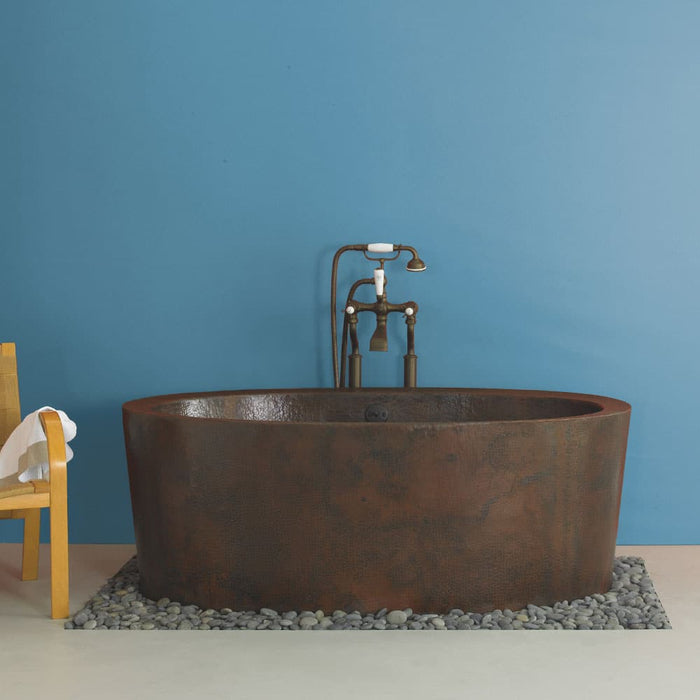 Aspen Bathtub in Antique Copper by Native Trails