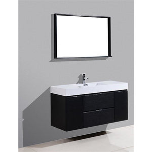 "Bliss 48"" Wall Mounted Vanity by KubeBath"