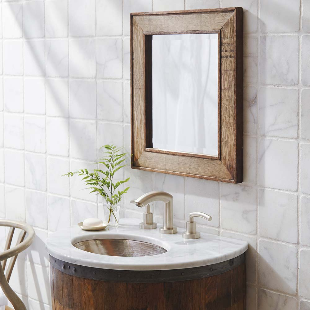 Bordeaux Mirror by Native Trails
