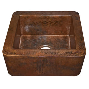 Cabana Bar and Prep Sink in Antique Copper by Native Trails