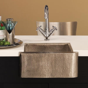 Cabana Bar and Prep Sink in Brushed Nickel by Native Trails