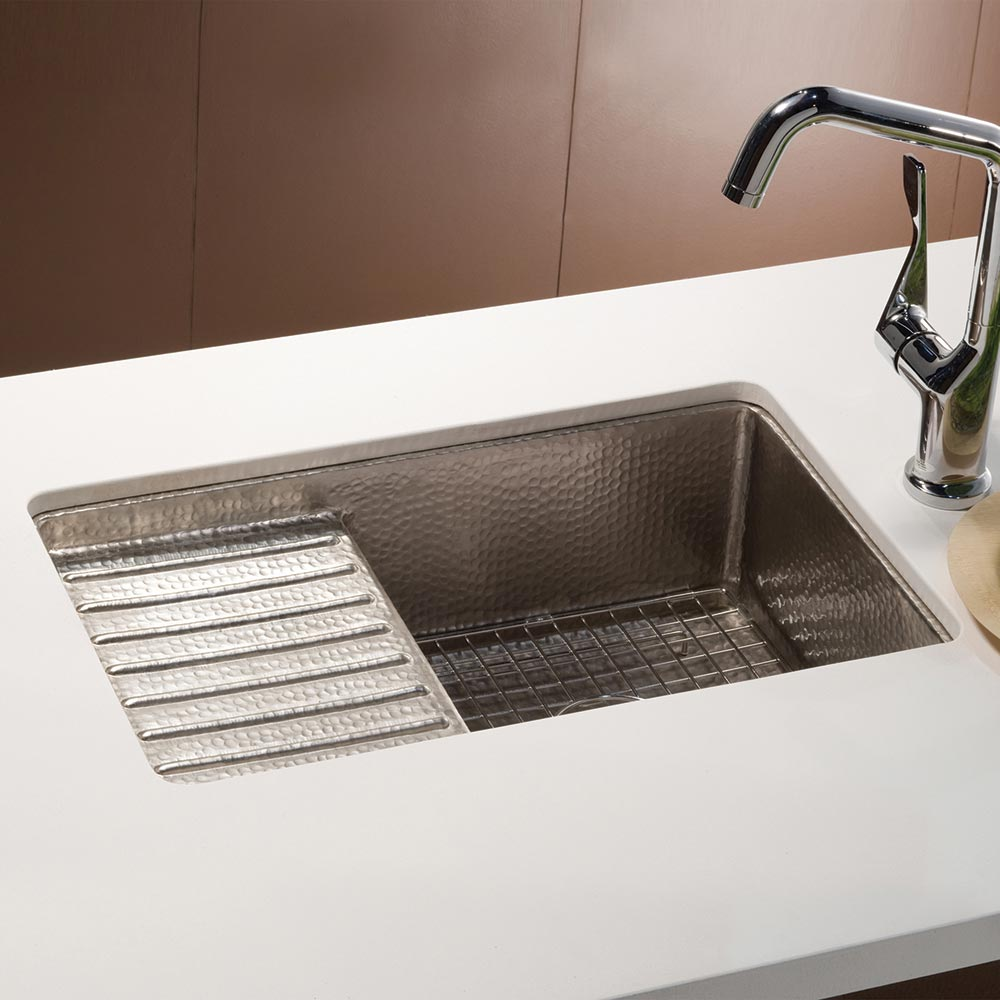 Cantina Pro Bar and Prep Sink in Brushed Nickel by Native Trails