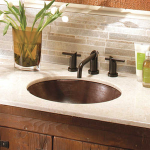 Classic Bathroom Sink in Antique Copper by Native Trails