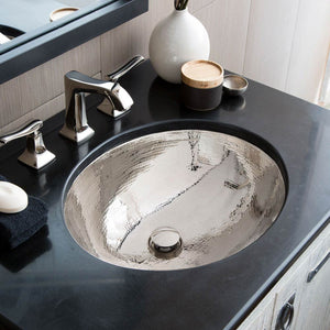 Classic Bathroom Sink in Polished Nickel by Native Trails