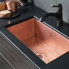 Cocina 30 Kitchen SInk in Polished Copper by Native Trails