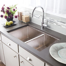 Cocina Duet Kitchen SInk in Brushed Nickel by Native Trails