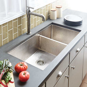 Cocina Duet Pro Kitchen SInk in Brushed Nickel by Native Trails