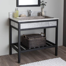 "36"" Cuzco Vanity Base in Carrara by Native Trails"