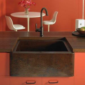 Farmhouse 25 Kitchen SInk in Antique Copper by Native Trails