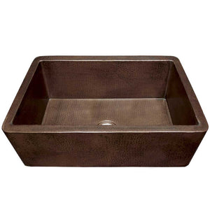 Farmhouse 33 Kitchen SInk in Antique Copper by Native Trails