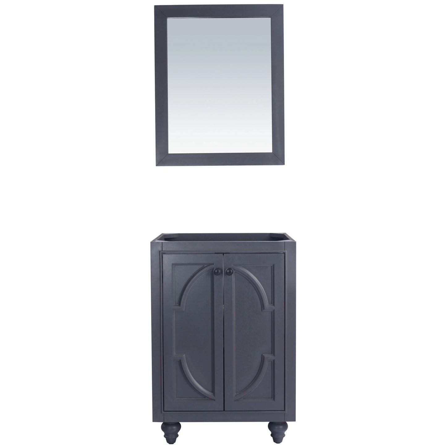 Odyssey - 24 - Maple Grey Vanity Cabinet by Laviva