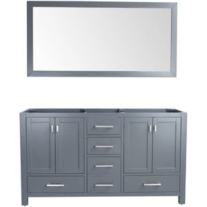Wilson 60 - Grey Cabinet by Laviva