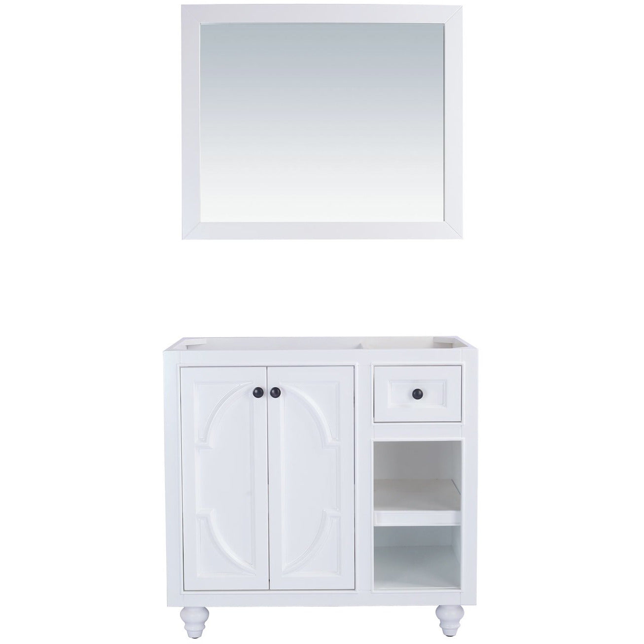 Odyssey - 36 - White Cabinet by Laviva