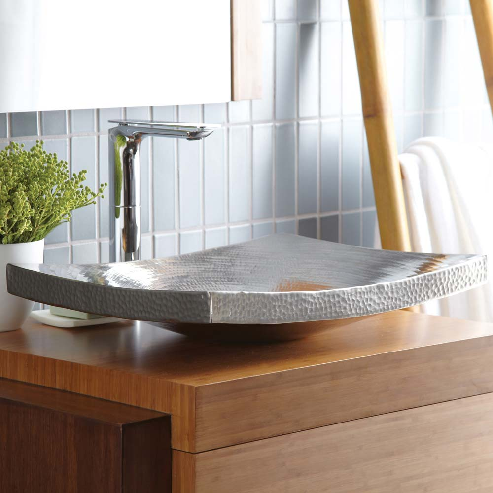 Kohani Bathroom Sink in Brushed Nickel by Native Trails