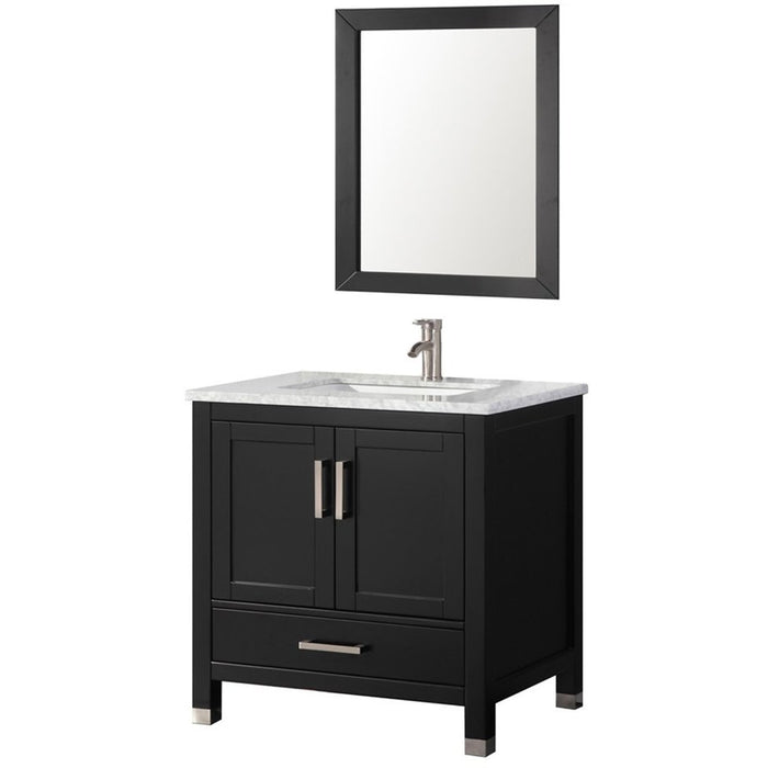 MTD Vanities Ricca 30'' Single Sink Bathroom Vanity Set, Espresso