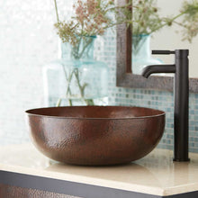 Maestro Round Bathroom Sink in Antique Copper by Native Trails