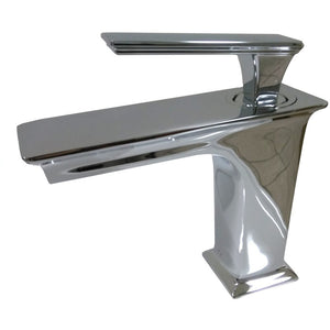 "MTD Vanities QUEEN 6"" Single Hole Single Handle Bathroom Faucet in Polished Chrome"