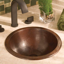 Paloma Bathroom Sink in Antique Copper by Native Trails