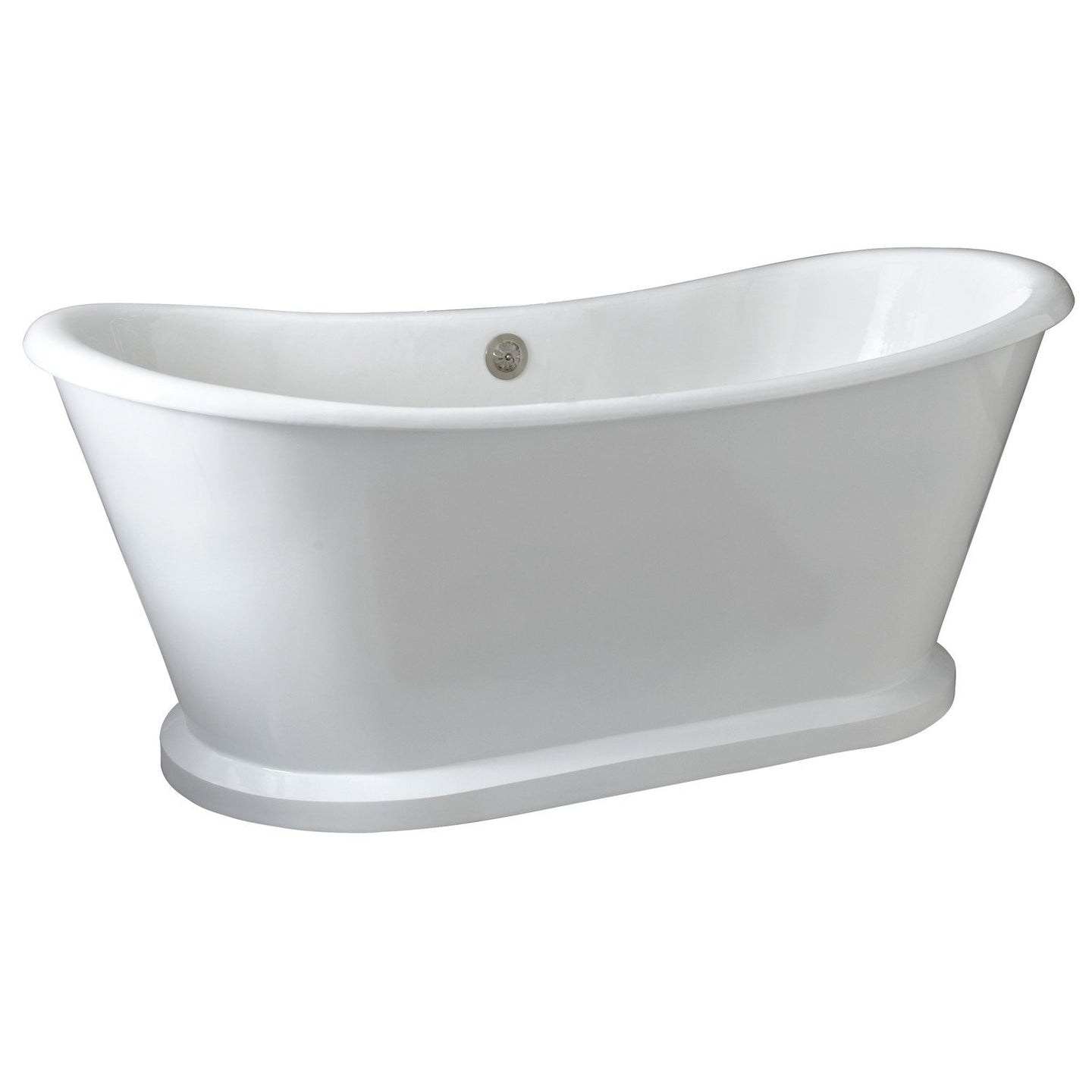 White Cast Iron Pedistal Bathtub - Barclay Raynor