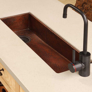 Rio Chico Bar and Prep Sink in Antique Copper by Native Trails