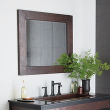 Large Sedona Rectangle Mirror in Antique Copper by Native Trails