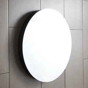 "Solace 28"" Mirror in Midnight Oak by Native Trails"