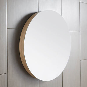 "Solace 28"" Mirror in Sunrise Oak by Native Trails"