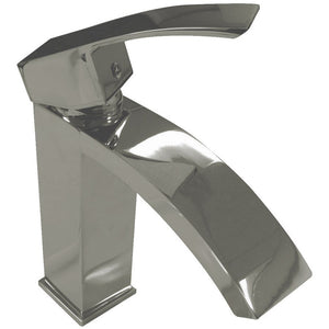 "Tuglea - Bushed Nickel - 7"" Single Hole Lever Handle Bathroom Faucet by MTD"