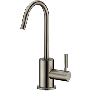Whitehaus Point of Use Cold Water Drinking Faucet with Gooseneck Swivel Spout