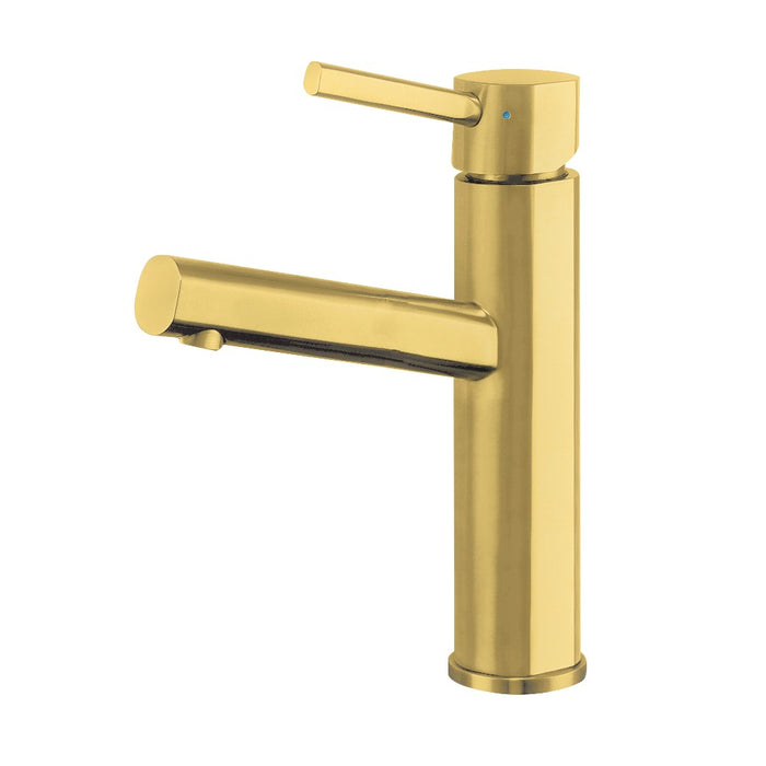 Whitehaus Waterhaus Lead-Free, Solid Stainless Steel Single lever Elevated Lavatory Faucet