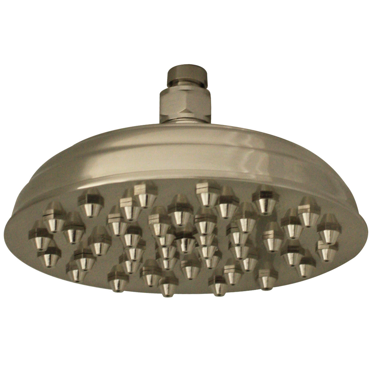 Whitehaus Showerhaus Sunflower Rainfall Showerhead with 45 nozzles - Solid Brass Construction with Adjustable Ball Joint