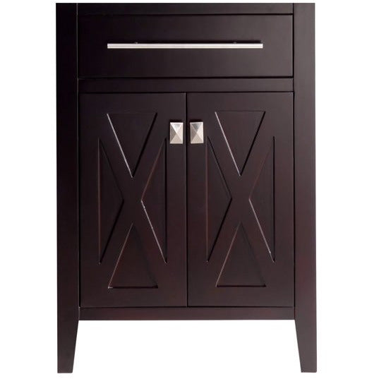Wimbledon - 24 - Brown Cabinet by Laviva