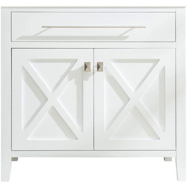Wimbledon - 36 - White Vanity Cabinet by Laviva