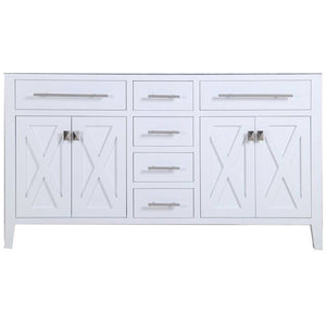Wimbledon - 60 - White Vanity Cabinet by Laviva