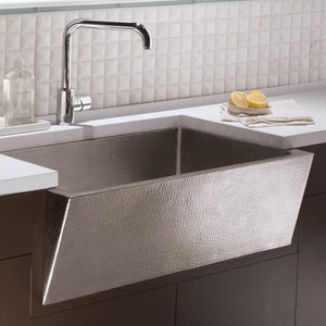 Zuma Kitchen SInk in Brushed Nickel by Native Trails