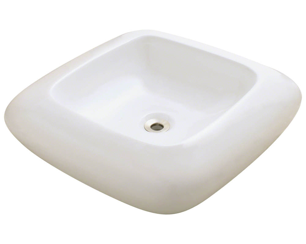 P001VB Pillow Top Porcelain Vessel Sink by Polaris