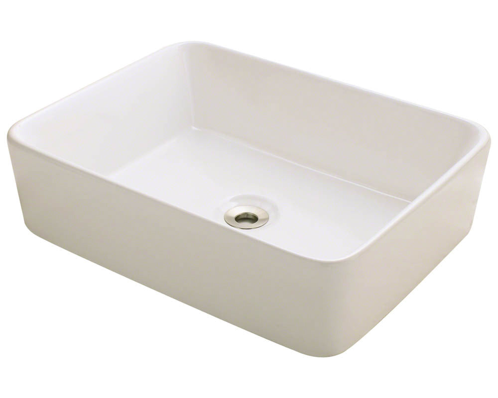 P041VB Porcelain Vessel Sink by Polaris