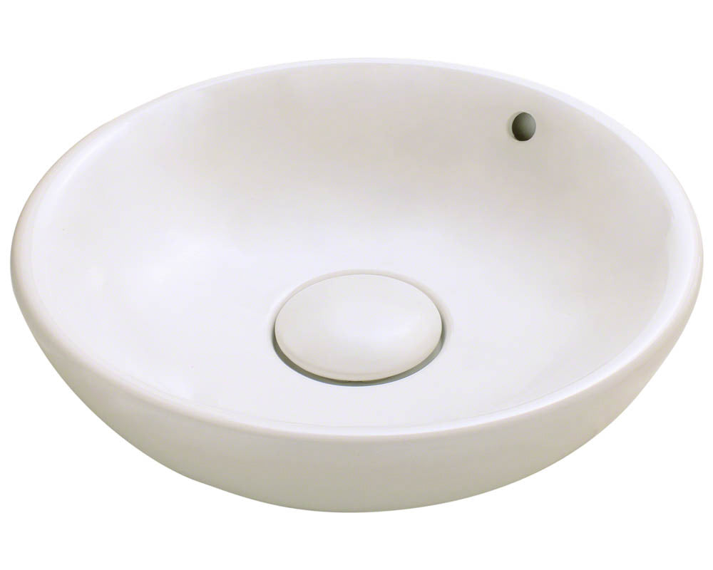 P043VB Porcelain Vessel Sink by Polaris