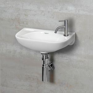 Whitehaus Waterhaus Solid Stainless Steel, Single Lever Small Lavatory Faucet