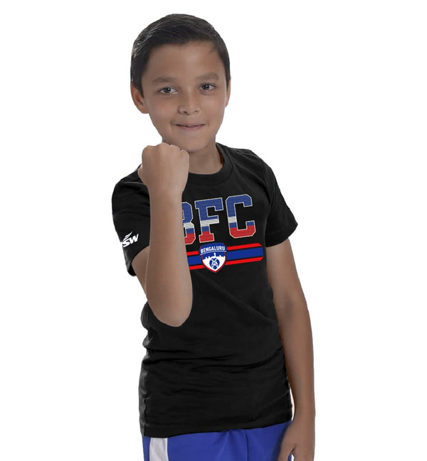 Bengaluru FC Kids Chest Print T-Shirt