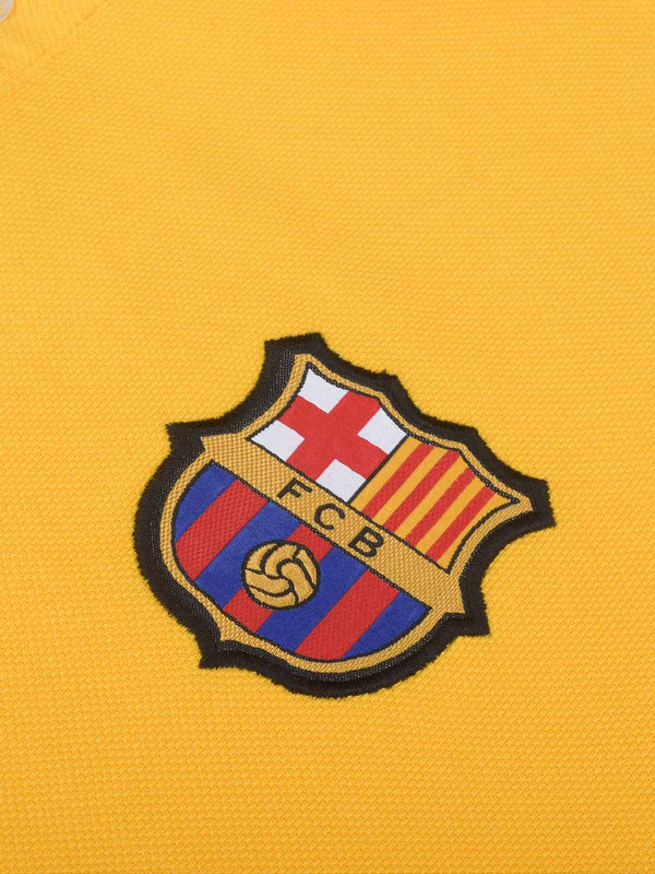 FC Barcelona Team Polo with 3D Crest