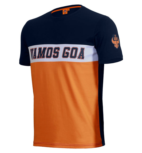 "FC Goa ""Vamos Goa"" Cut and Sew T-Shirt"